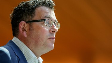 Impatient: Premier Daniel Andrews wants to fast-track major projects.