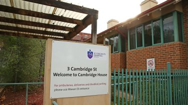 The Cambridge House nursing home.