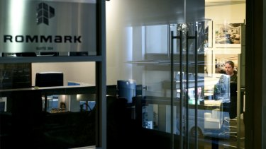 The AFP raided the offices of Mr Teplitsky's company Rommark on May 17.