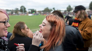 What game? There was a friendly, laidback vibe at the Reclink Community Cup at Victoria Park on Sunday.