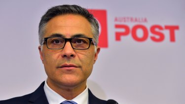 Australia Post CEO Ahmed Fahour.