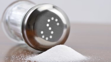 Excess salt in foods contributes to high blood pressure and cardiovascular disease.