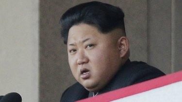 North Korean leader Kim Jong-un.