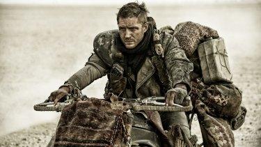 <i>Mad Max: Fury Road</i>, starring Tom Hardy as Max.