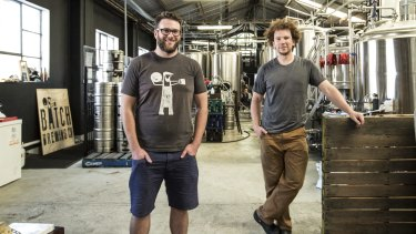 Andrew Fineran and Chris Sidwa, of Batch Brewing Company.