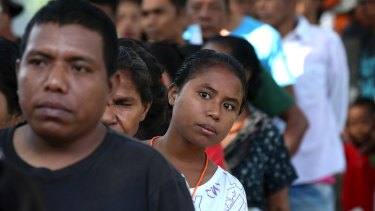 Despite frustration with the lack of economic progress, Timorese look set to return the ruling coalition to office.