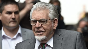 Rolf Harris is one of dozens of high-profile people involved in UK sex abuse scandals.