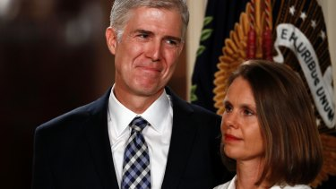 Judge Neil Gorsuch and his wife Louise.