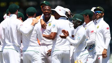 Joy: A string of winning performances has boosted the Proteas' confidence.
