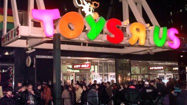 Local colour: Toys 'R' Us has shed plenty of red ink in Australia.
