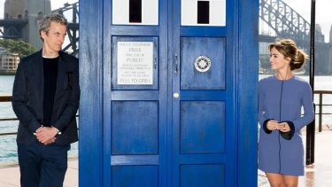 The actual Time Lord.
