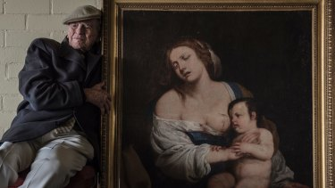 Charles Bennett Taylor believes his painting may be the work of Italian master Artemisia Gentileschi.