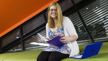 Deakin University student Michelle Kulik is daunted by her HECS debt but confident it will be worth it.