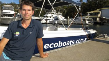Steve Mullie gave up the corporate world for a business in boating.