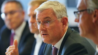 On deadline: FFA Chairman Steven Lowy.