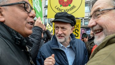 British Labour leader Jeremy Corbyn is expected to speak against Britain joining the war in Syria.