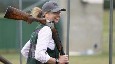 Nationals senator Bridget McKenzie from the Parliamentary friends of shooting group.