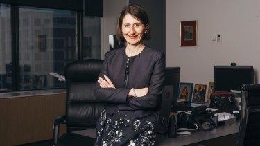 """""""I'm always happy to listen"""": NSW Premier Gladys Berejiklian."""
