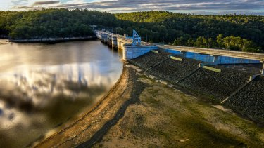 Sydney's main reservoir, Warragamba Dam, was among areas with the poorest results in the water audit.