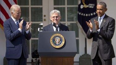 "Obama: ""I chose a serious man and an exemplary judge."""