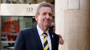 Leaving politics: Former premier Barry O'Farrell.