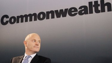 """CBA chief executive Ian Narev won't back down from """"unpopular"""" decisions."""