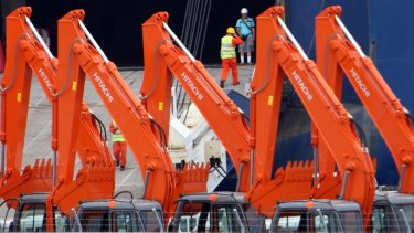 Hitachi Construction Machinery is hoping to get its $3.25 a share bid for Bradken across the line.