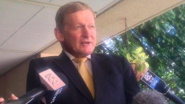 Former LNP MP Chris Davis.