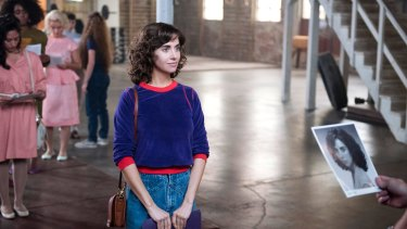 Alison Brie, Glow's lead, came to fame as Trudy Campbell in Mad Men.