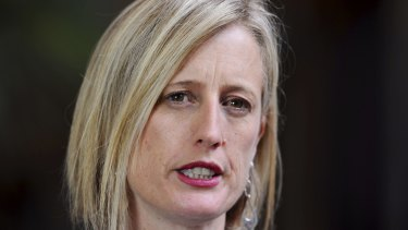 ACT Labor senator Katy Gallagher.