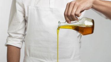 Cooking with oil (well, evoo) is good for you.