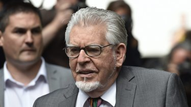File image of entertainer Rolf Harris.