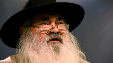 Patrick Dodson was one of the commissioners who investigated 99 Aboriginal deaths in custody between 1980 and 1989 and made 339 recommendations.