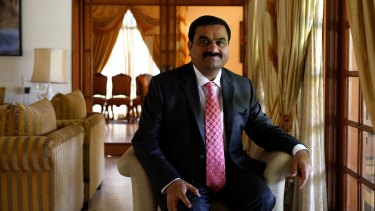Gautam Adani: can give Adani a cheap loan of nearly $1 billion to build a railway that only Adani can use.
