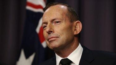 Prime Minister Tony Abbott.