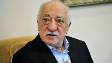 US-based Turkish Muslim cleric Fethullah Gulen.
