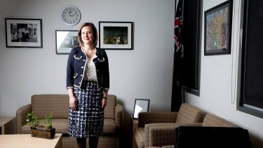 Kelly O'Dwyer, who will become Small Business Minister and the Assistant Treasurer.