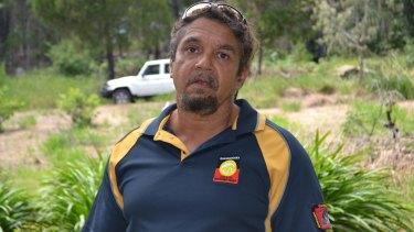 Darren Burns is Quandamooka's joint management co-ordinator.