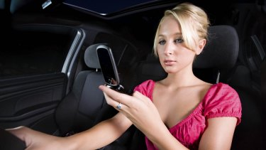 Texting while driving could become even more expensive for Queensland drivers.