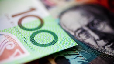 The Australian unit has lost more than 9 per cent against the greenback since the middle of May this year.
