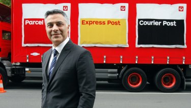 Australia Post chief executive Ahmed Fahour is putting pressure on the Abbott government to allow structural changes to the company.