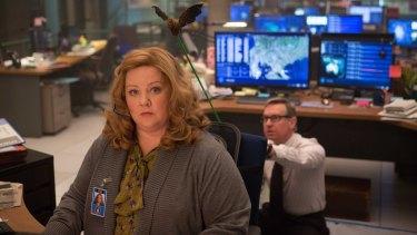Melissa McCarthy in her new movie <i>Spy</i>.