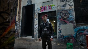 Melbourne's most significant collection of Banksy street art has been demolished.