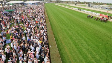 The Caulfield track came in for criticism on Saturday for its harshness.
