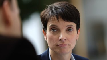 Frauke Petry, chairwoman of the AfD.