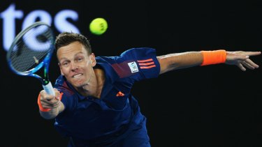 """""""This was an absolute lesson"""": Tomas Berdych says he was unlucky to meet Federer in this form."""