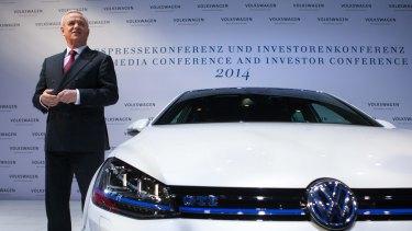 Martin Winterkorn, chief executive officer of Volkswagen AG.