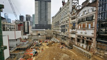 Grocon's  Emporium site on September 7, 2012.