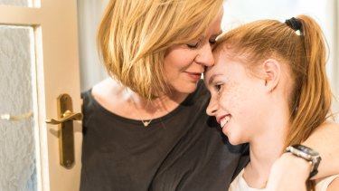 Sharon Bradley noticed physical symptoms reading Harry Potter at bedtime to her daughter, Karis.