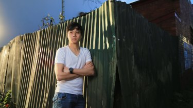 Student Luke Zhang has lost thousands to fraudulent education agents.